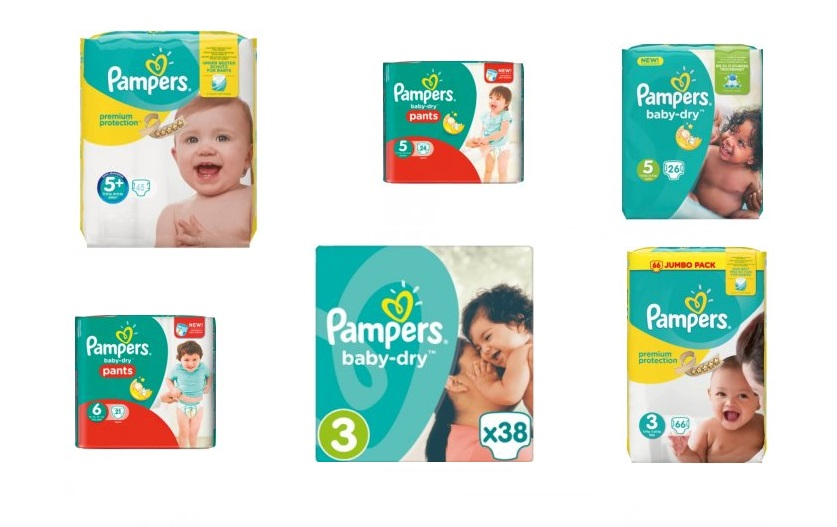 pampers cz
