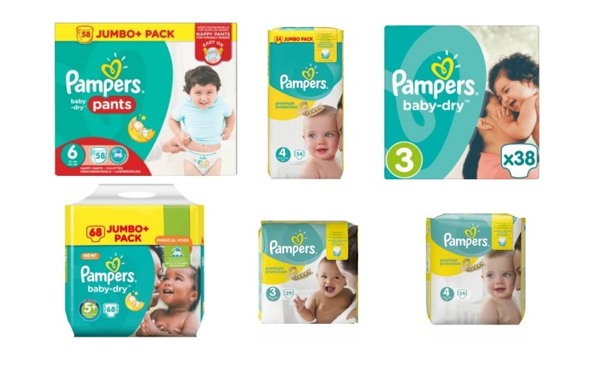pleny pampers 5