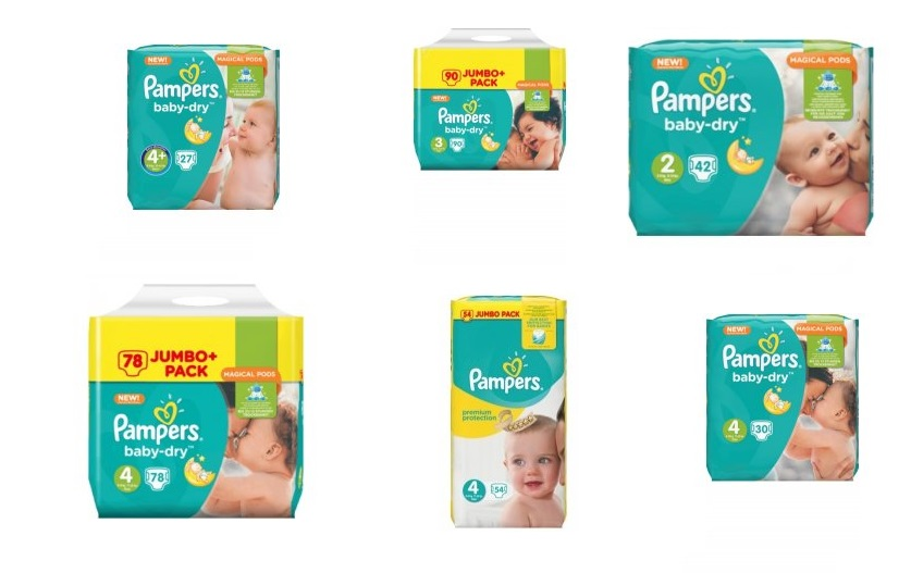 plenky pampers newborn