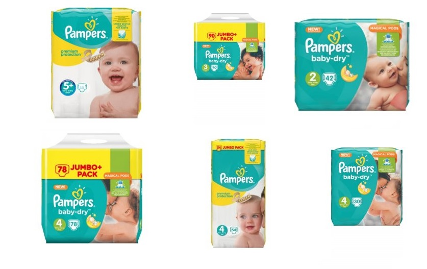 akce pampers
