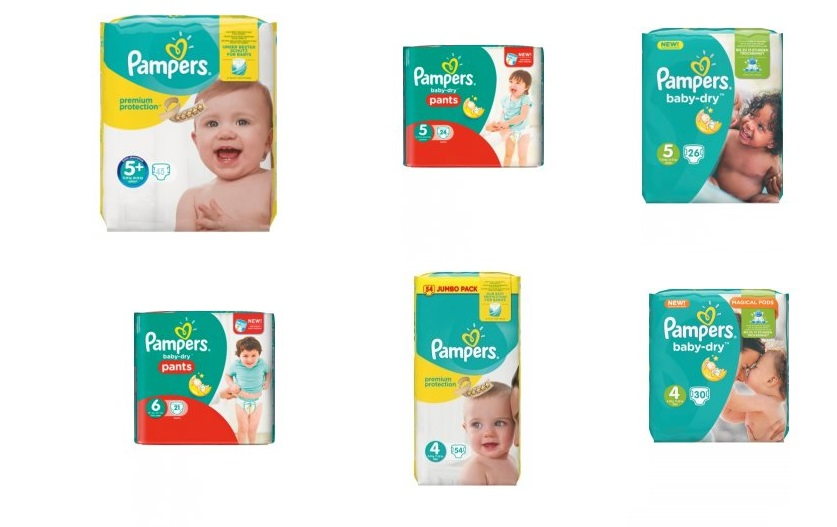 pampers premium care akce