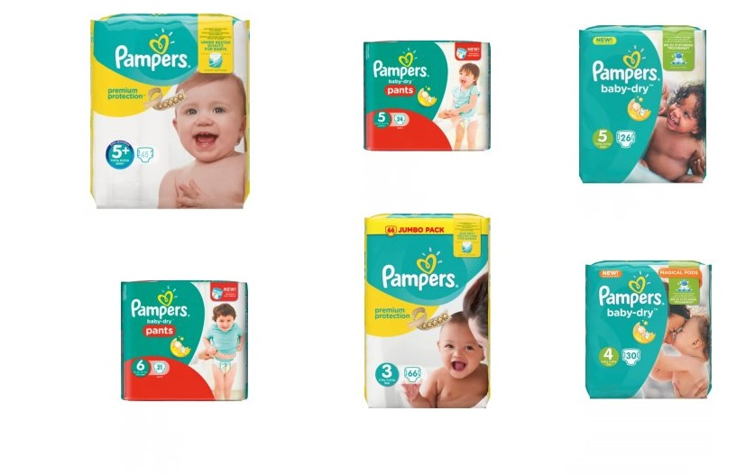 pampers active baby dry 5